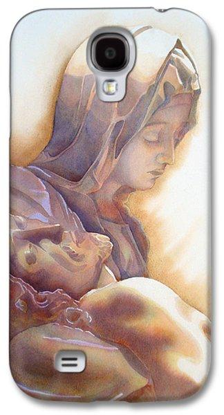 Mercy Galaxy S4 Cases - LA PIETA By Michelangelo Galaxy S4 Case by Jose Espinoza