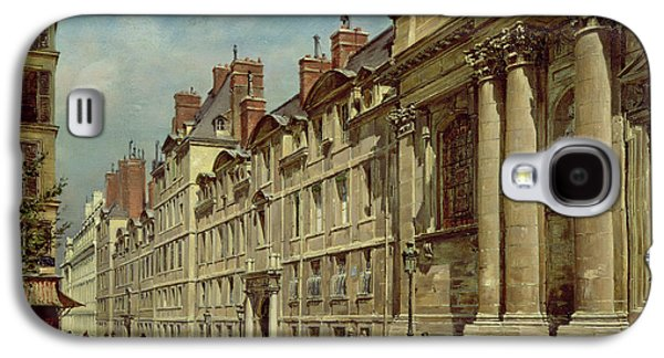 In The Shade Galaxy S4 Cases - La Sorbonne Galaxy S4 Case by Paul Joseph Victor Dargaud