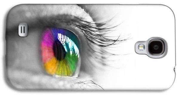 La Vie En Couleurs Galaxy S4 Case by Delphimages Photo Creations
