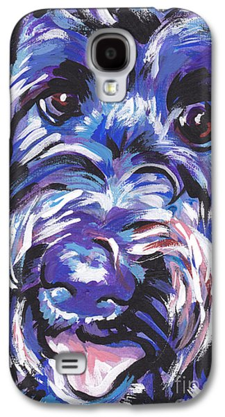 Puppies Galaxy S4 Cases - Labra Doodly Do Galaxy S4 Case by Lea