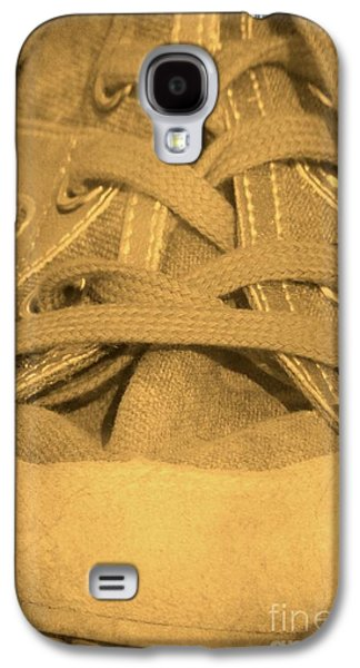 Sneaker Galaxy S4 Cases - Laces Galaxy S4 Case by Sophie Vigneault