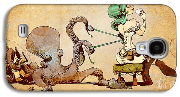 Best Sellers -  - Girl Galaxy S4 Cases - Lacing Up Galaxy S4 Case by Brian Kesinger