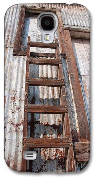 Old Feed Mills Galaxy S4 Cases - Ladder 1 Galaxy S4 Case by Minnie Lippiatt
