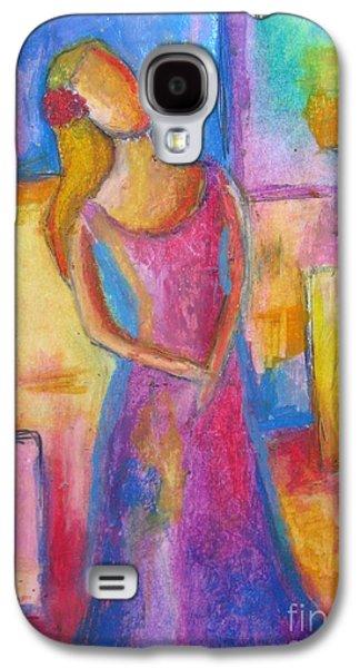 Interior Still Life Pastels Galaxy S4 Cases - Lady Grace Galaxy S4 Case by Venus
