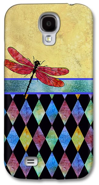 Flies Mixed Media Galaxy S4 Cases - Lady in Red Galaxy S4 Case by Jenny Armitage