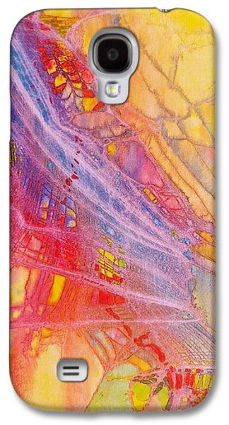 Boardroom Mixed Media Galaxy S4 Cases - Lady Liberty Galaxy S4 Case by David Raderstorf