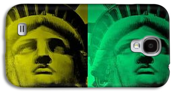 Statue Portrait Galaxy S4 Cases - Lady Liberty For All Galaxy S4 Case by Rob Hans