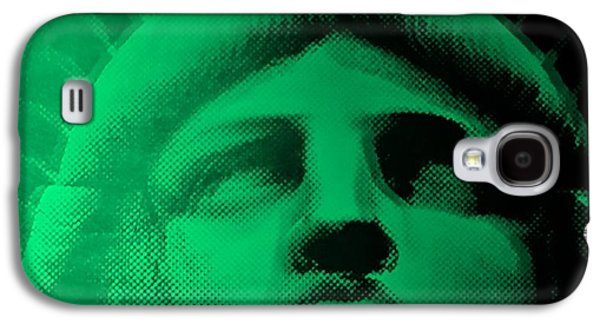 Statue Portrait Galaxy S4 Cases - LADY LIBERTY in COPPER GREEN Galaxy S4 Case by Rob Hans