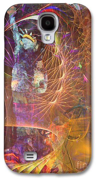Statue Of Liberty Mixed Media Galaxy S4 Cases - Lady Liberty Galaxy S4 Case by John Robert Beck