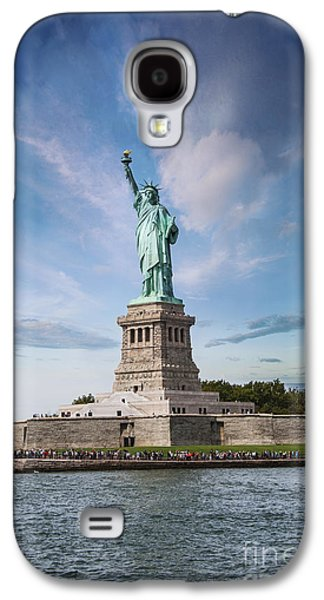 Lady Liberty Galaxy S4 Case by Juli Scalzi