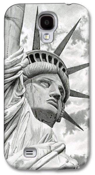 Lady Liberty  Galaxy S4 Case by Sarah Batalka
