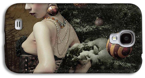 Lady Of December\'s Tree Galaxy S4 Case by Kiyo Murakami