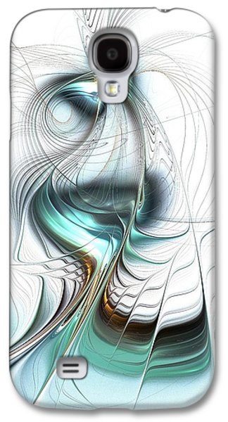 Blue Galaxy S4 Cases - Lady of the Lake Galaxy S4 Case by Anastasiya Malakhova