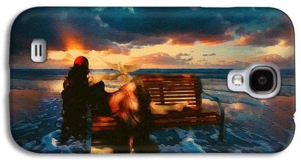 Dreamscape Galaxy S4 Cases - Lady Of The Ocean Galaxy S4 Case by Georgiana Romanovna