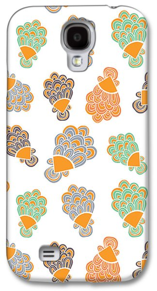 Bold Style Galaxy S4 Cases - Lady Peacock Galaxy S4 Case by Susan Claire