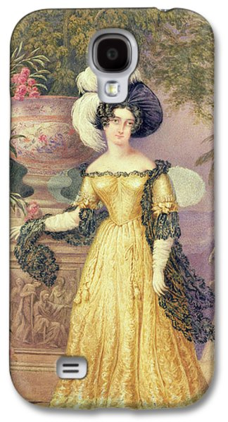 Aristocrat Galaxy S4 Cases - Lady Rowe Galaxy S4 Case by Isaac Mendes Belisario