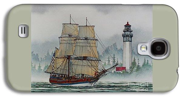 Lady Washington Galaxy S4 Cases - Lady Washington at Grays Harbor Galaxy S4 Case by James Williamson