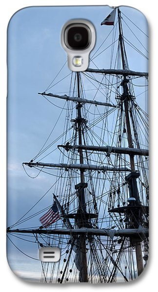Michelle Obama Photographs Galaxy S4 Cases - Lady Washingtons Masts Galaxy S4 Case by Heidi Smith