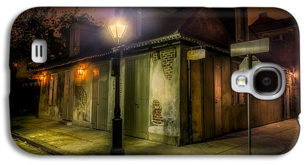 Captains Quarters Galaxy S4 Cases - Lafittes Blacksmith Shop Galaxy S4 Case by David Morefield