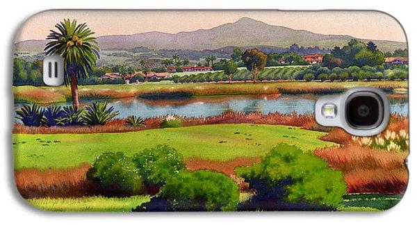 Lago Lindo Rancho Santa Fe Galaxy S4 Case by Mary Helmreich