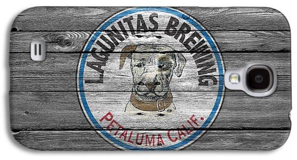 Breweries Galaxy S4 Cases - Lagunitas Brewing Galaxy S4 Case by Joe Hamilton