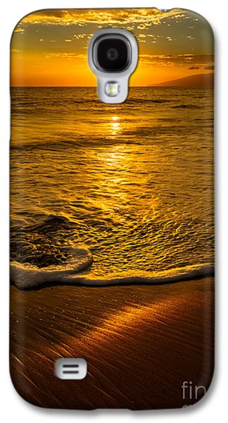 Ocean Sunset Galaxy S4 Cases - Lahaina Glow Galaxy S4 Case by Jamie Pham