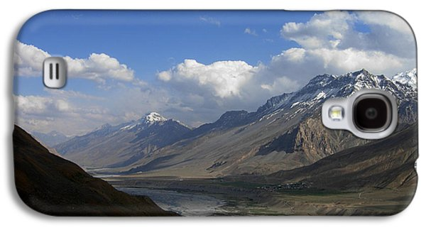 Etc. Pyrography Galaxy S4 Cases - Lahaul Spiti Galaxy S4 Case by Chandrashekhar Hegde