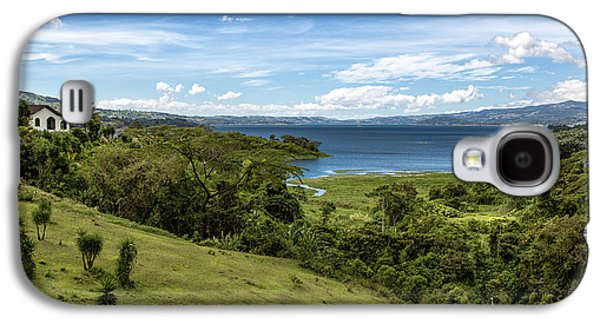 Trees Photographs Galaxy S4 Cases - Lake Arenal View in Costa Rica Galaxy S4 Case by Andres Leon