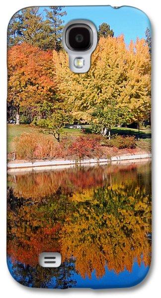 Uc Davis Galaxy S4 Cases - Lake at Davis Galaxy S4 Case by Jim Halas