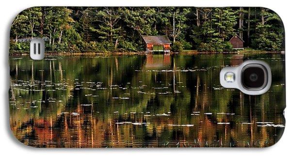 Sun Galaxy S4 Cases - Lake Chocorua Galaxy S4 Case by Marcia Lee Jones