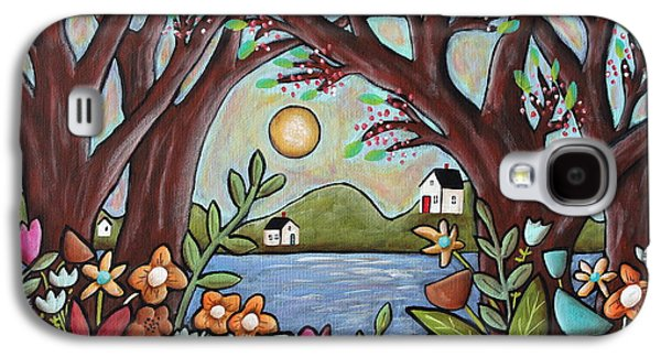 Lake Cottages Galaxy S4 Case by Karla Gerard