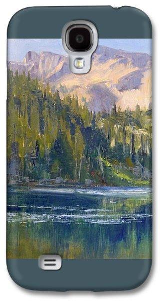 Edgar Payne Galaxy S4 Cases - Lake George Galaxy S4 Case by Sharon Weaver
