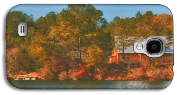 Brenda Bryant Photography Galaxy S4 Cases - Lake House Galaxy S4 Case by Brenda Bryant