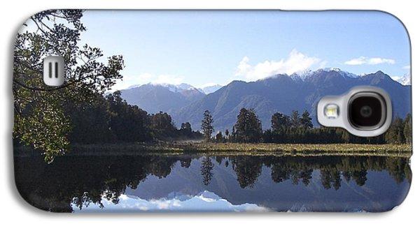 Aotearoa Galaxy S4 Cases - Lake Matheson New Zealand Galaxy S4 Case by Jill Blackwood