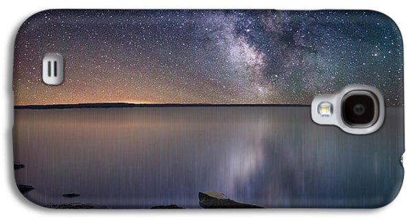 Star Galaxy S4 Cases - Lake Oahe Galaxy S4 Case by Aaron J Groen