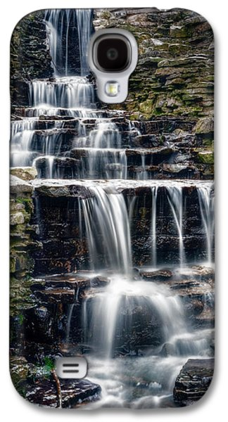 Lake Park Waterfall Galaxy S4 Case by Scott Norris