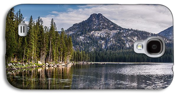 Haybale Galaxy S4 Cases - Lake Reflection Galaxy S4 Case by Robert Bales