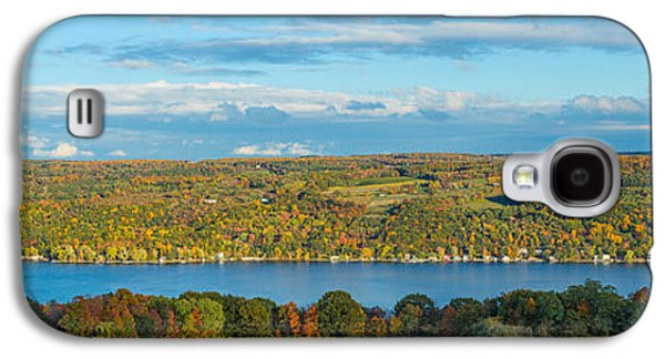 Keuka Galaxy S4 Cases - Lake Surrounded By Hills, Keuka Lake Galaxy S4 Case by Panoramic Images