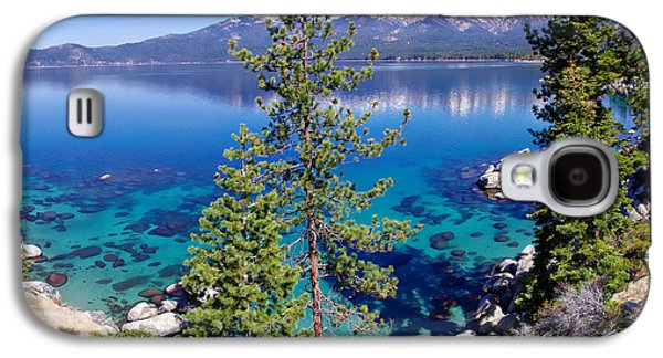 Snow-covered Landscape Galaxy S4 Cases - Lake Tahoe Beauty Galaxy S4 Case by Scott McGuire