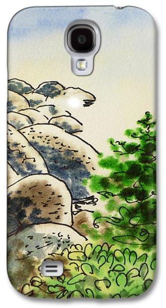 Lake Tahoe - California Sketchbook Project Galaxy S4 Case by Irina Sztukowski