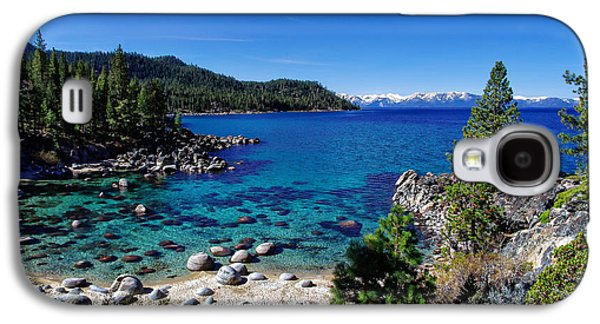 Snow-covered Landscape Photographs Galaxy S4 Cases - Lake Tahoe Springscape Galaxy S4 Case by Scott McGuire