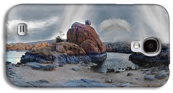 Dreamscape Galaxy S4 Cases - Lake Watson Mindscape Galaxy S4 Case by Wayne King