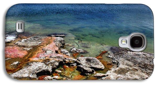 Yellowstone Digital Galaxy S4 Cases - Lake Yellowstone Galaxy S4 Case by Ellen Heaverlo
