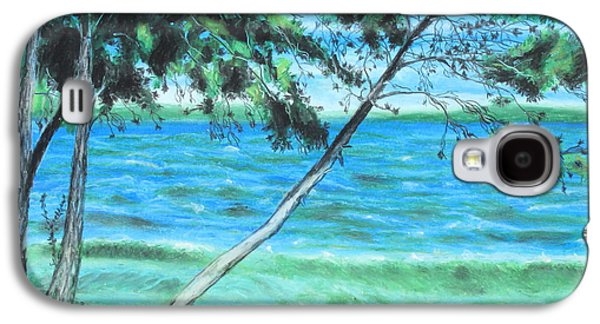 Waterscape Pastels Galaxy S4 Cases - Lakeland 3 Galaxy S4 Case by Jeanne Fischer