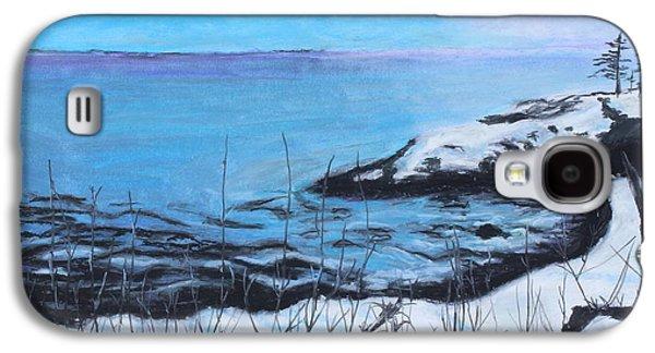Waterscape Pastels Galaxy S4 Cases - Lakeland 5 Galaxy S4 Case by Jeanne Fischer