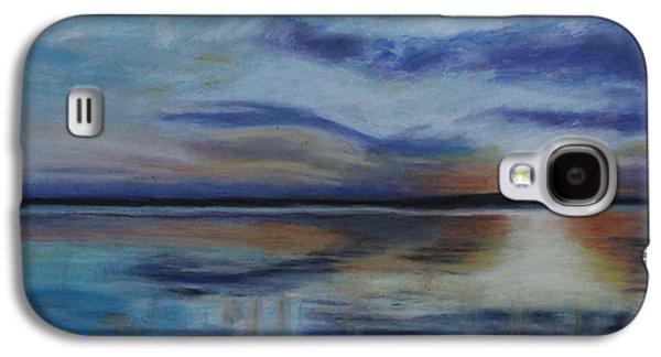 Waterscape Pastels Galaxy S4 Cases - Lakeland Galaxy S4 Case by Jeanne Fischer