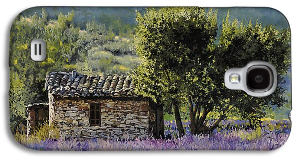 Field Paintings Galaxy S4 Cases - Lala Vanda Galaxy S4 Case by Guido Borelli