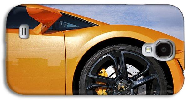 Disc Photographs Galaxy S4 Cases - Lamborghini Gallardo Galaxy S4 Case by Tim Gainey