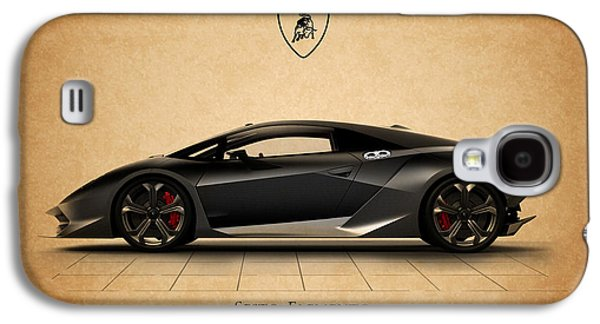 Car Photographs Galaxy S4 Cases - Lamborghini Sesto Elemento Galaxy S4 Case by Mark Rogan