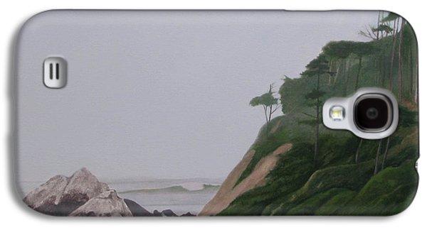 Leonard Filgate Paintings Galaxy S4 Cases - Lands End Galaxy S4 Case by Leonard Filgate